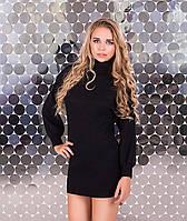 Черное платье летучая мышь ZL1090