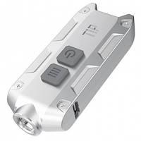 Фонарь Nitecore TIP (Cree XP-G2, 360 люмен, 4 режима, USB), стальной