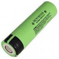 Аккумулятор литиевый Panasonic NCR 18650 B (3.7V, 6.8A, 3400mAh), промышленный