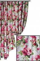 Ткань с цветочным принтом Грейс