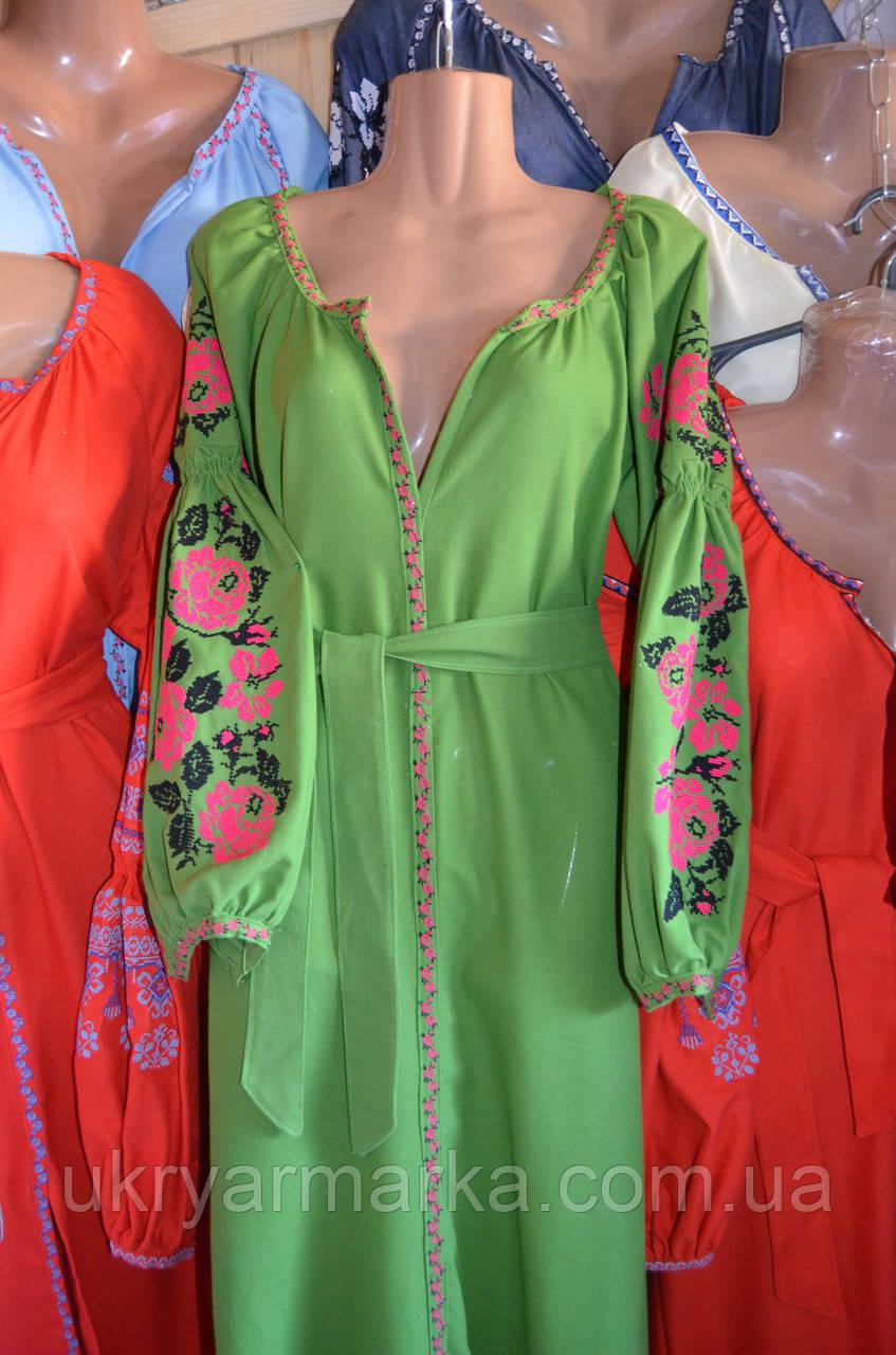 ... Вишите плаття в стилі бохо