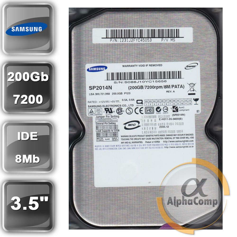 "Жесткий диск 3.5"" 200Gb Samsung SP2014N (8Mb/7200/IDE) БУ"