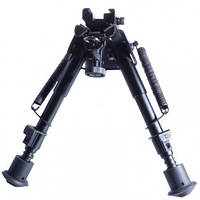 Сошка оружейная, на шарнирной базе Harris Bipod SCOT-38 (155-230mm, 6 уровней)