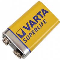 Батарейка солевая КРОНА Longlife (2022, 6F22) Varta 9V