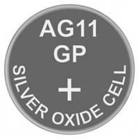 Батарейка часовая серебро-цинк, Silver oxide G11 (362, SR58, SR721SW) GP 1.55V