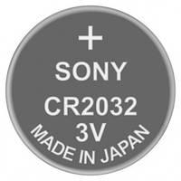 Батарейка дисковая литиевая CR2032 Sony 3V