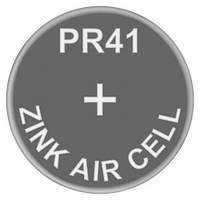 Батарейка для слуховых аппаратов Zinc Air PR41 (AC312, DA312) GP 1.4V