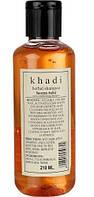 Шампунь Кхади Хна и Тулси, shampoo Khadi Heena Tulsi, 210 мл