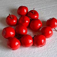 Яблоко для декора (красный)
