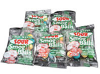 Кислые конфеты Toxic Waste Sour Smog Balls, 6 вкусов в каждой пачке!