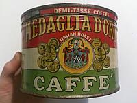 Банка (из-под кофе) Medaglia D`oro Caffe Италия. 40-е годы