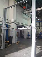 Двухстоечный электрогидравлический подъемник SR-2040HE, 4 тонны