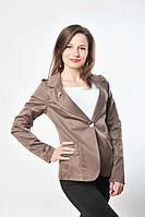 Пиджак какао, р.48, код 408М