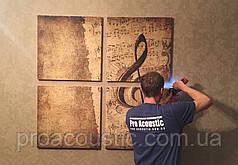Монтаж звукоизоляционных материалов