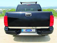 Хром накладки на Volkswagen Amarok кромка багажника Нержавеющая сталь