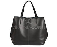 Кожаная сумка-шопер Virginia Conti Art2113