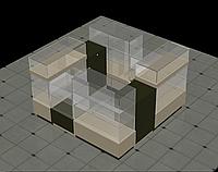 Торговый островок, торговая мебель изготовить, фото 1