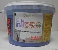 Краска для стен и потолков, моющееся,  акриловая GBC Hippo Европа 10л