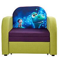 Детский диван кровать раскладной с ящиком для белья Той