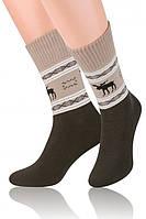 Мужские теплые махровые носки Steven