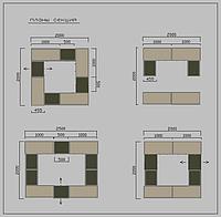 Торговый островок, торговый остров производство, изготовление торговых островов, торговый витрина, фото 1