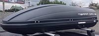 Автомобильный бокс TERRA DRIVE 440л черный правосторон. открытие Центр.трехригельный замок ()