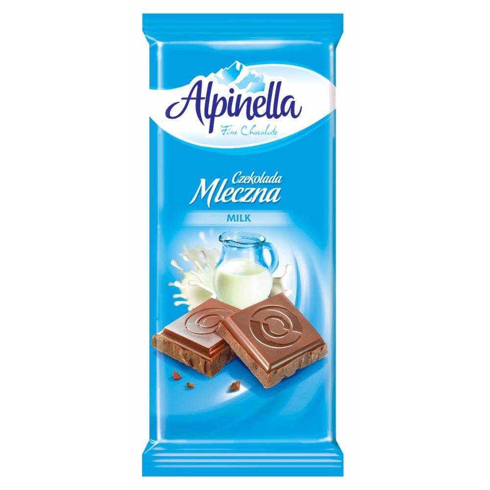 Шоколад Alpinella (Альпинелла молочный) 100 г. Польша