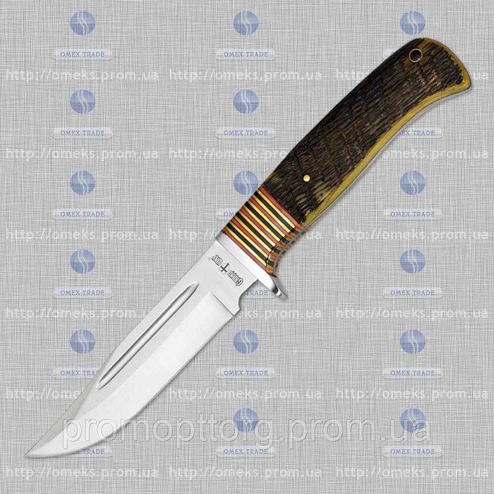Нескладной нож 2304 YBJ (кость быка) MHR /05-41