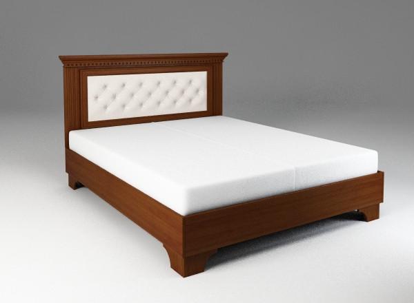 Кровать Академия с декорированным изголовьем