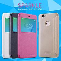 Кожаный чехол Nillkin Sparkle для Huawei Nova (4 цвета)