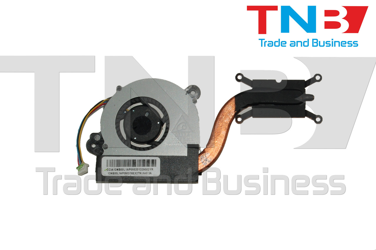 Вентилятор+радиатор ASUS VivoBook Q200E S200E X200E X201E X201EP X201EV X202E X202EP оригинал Тип1