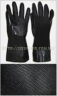 Перчатки КЩС К80 Щ50 неопреновые, модель 420 (черные)