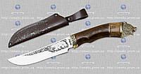 """Охотничий нож """"GW""""-МЕДВЕДЬ (подарочный) MHR /5-62"""