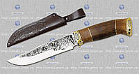 """Охотничий нож """"GW""""-ТИГР (с рисунком) MHR /05-62"""