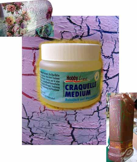 Однокомпонентный кракелюр для акриловых красок Hobby Line 50мл