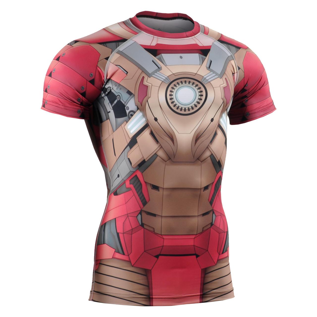Компрессионная футболка рашгард Fixgear CFS-81