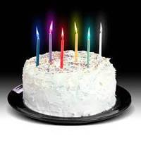 Удивите именинника необычными свечами для торта