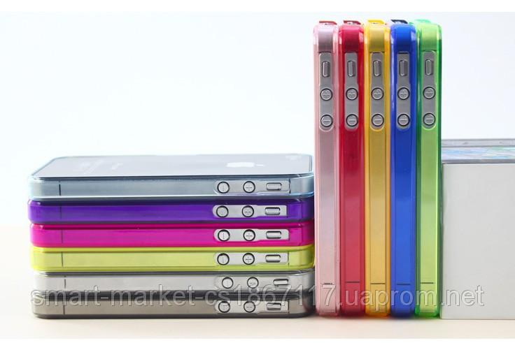 Бампер Ultra Thin 0.3 мм для телефону Apple iPhone 4/4S