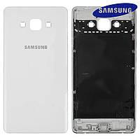 Задняя панель корпуса (крышка) для Samsung Galaxy A7 A700F, оригинал, белый