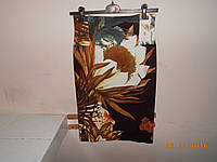 Юбка из ткани с рисунком Cristina Gavioli