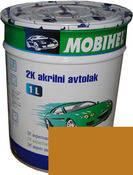 Краска Mobihel Акрил 1л 208 Охра Золотистая.