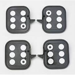 Комплект мішеней для вимірювання висоти посадки кузова автомобіля (тільки для 4-х камерних стендів) HUNTER 20-2050-1