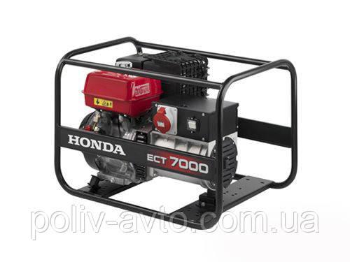 Бензиновый генератор Honda ECT 7000 K1