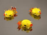 Бусина Золотая рыбка лампворк