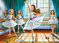 Пазлы Школа балета, количество элементов 260 Castorland В-27231