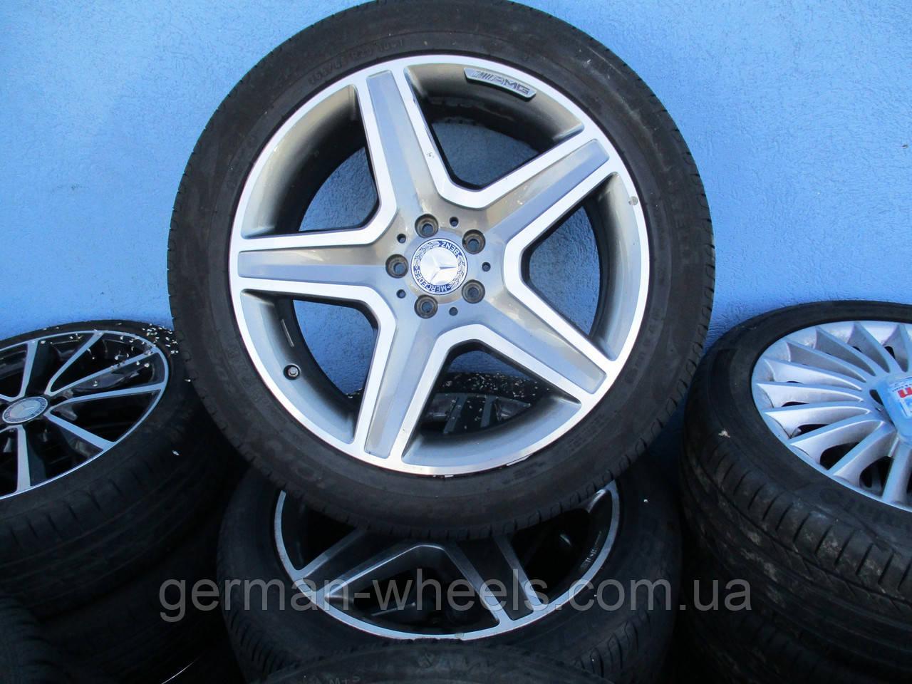 """Колеса 20"""" Mercedes ML W166 AMG"""