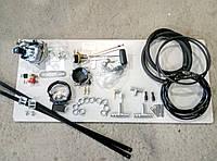 Комплект ГБО 2 поколения с редуктором Tomasetto на карбюратор Солекс с баллоном под запаску