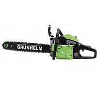 Бензопила Grunhelm GS41-16 (Professional, 2,8 кВт, 41 см.куб., шина 40 см, легкий старт).