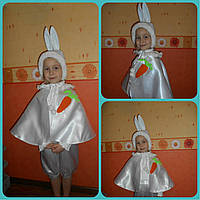 Костюм белого зайчика, зайца . Прокат Киев, фото 1