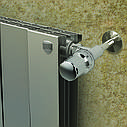 Радиатор биметаллический Royal Thermo Piano Forte 500 Silver Satin (8 секций), фото 2